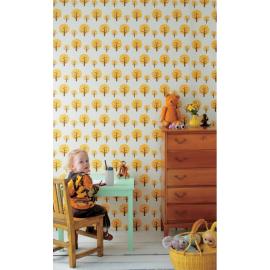 papier-peint-dotty-jaune