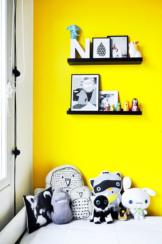 d corer avec du jaune leo le pirate. Black Bedroom Furniture Sets. Home Design Ideas