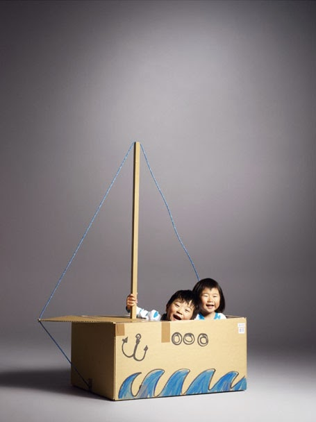 diy recycler le carton leo le pirate. Black Bedroom Furniture Sets. Home Design Ideas