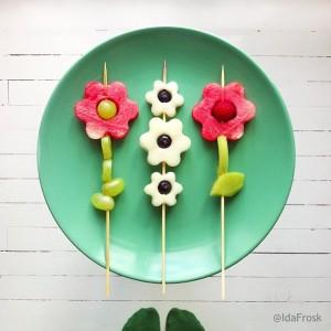 flowers ida frosk