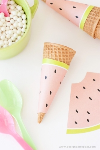 Free-Printable-Watermelon-Icecream-Cone-Wrappers-Perfect-addition-to-any-summer-or-fruit-themed-parties