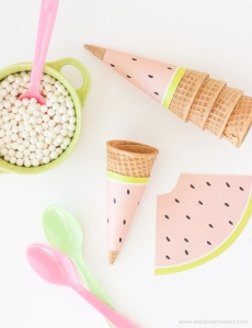 Free-Printable-Watermelon-Icecream-Cone-Wrappers.-Perfect-for-summer-or-fruit-themed-parties1